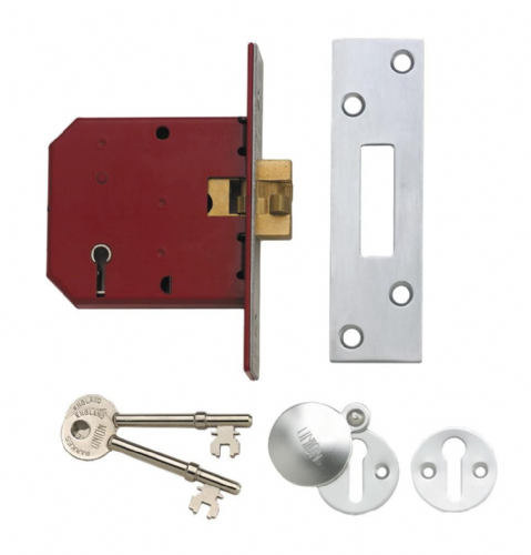 Union 2401 5 Lever Sliding Door Mortice Deadlock